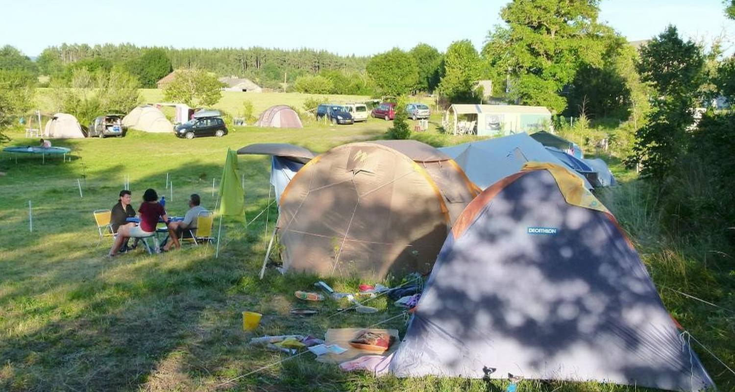 Camping pitches: la source in faverolles (108445)