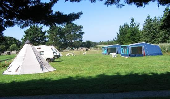 Camping à la ferme picture