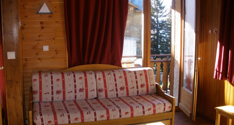 "Furnished accommodation: résidence ""chez jean"" in montvalezan (109116)"