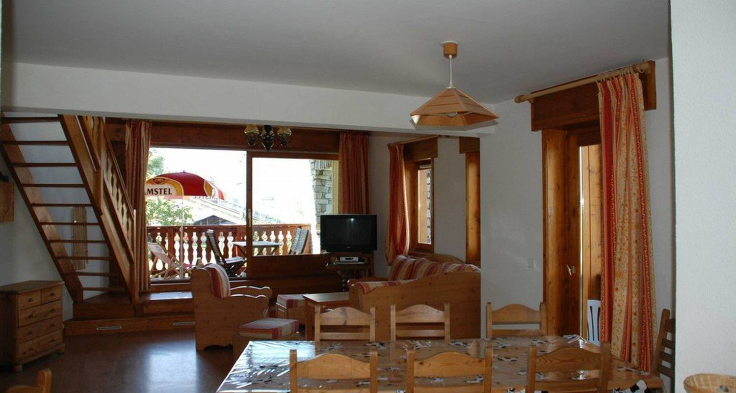Furnished accommodation: chalet darentasia _ app edelwe in bourg-saint-maurice (109306)