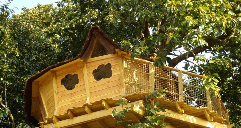 Cabane dans les arbres isigny le buat 25882 - Chambre d hote cabane dans les arbres ...