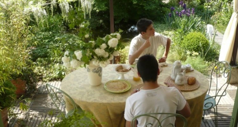 Chambre d'hôtes: au jardin à biscarrosse (109933)