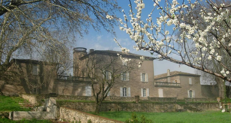 Chambre d'hôtes: domaine de lamartine à pont-saint-esprit (110011)