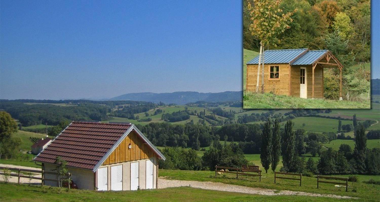 Emplacements de camping: la maison du haut à saint-lothain (110357)