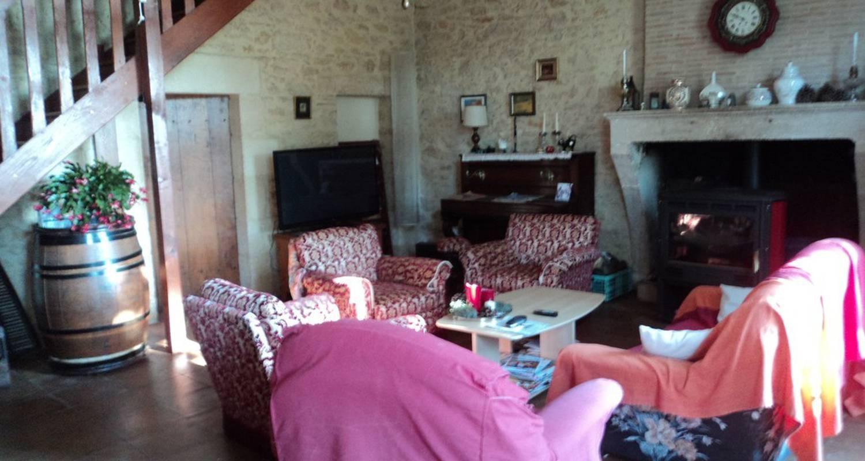 Chambre d'hôtes: le domaine de pérey à saint-martin-de-sescas (111299)