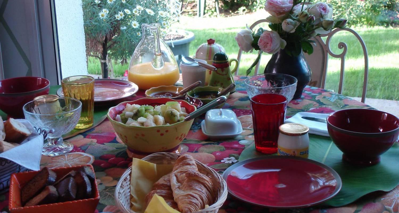 Chambre d'hôtes: couette et café crème à le coudray (111706)