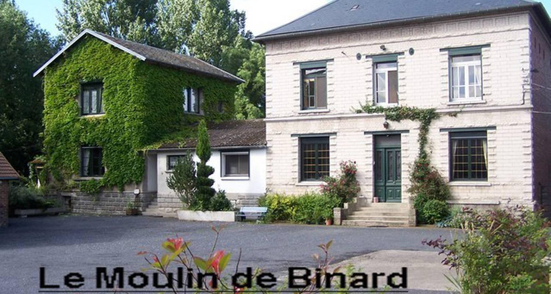 Bed & breakfast: le moulin de binard in buire-courcelles (111785)