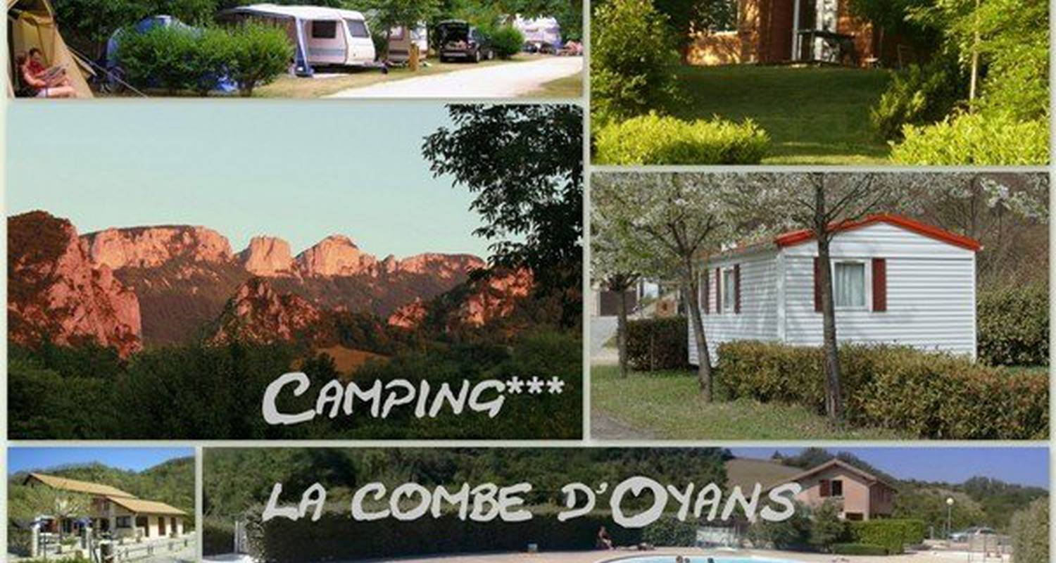 Camping pitches: camping la combe d'oyans in rochefort-samson (112556)