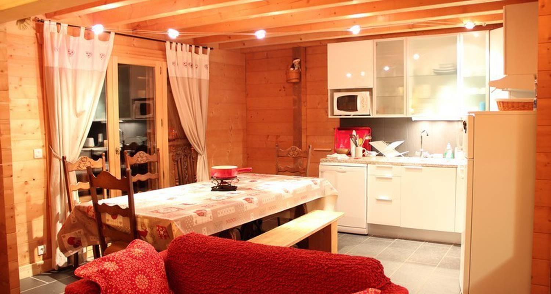 Furnished accommodation: le flocon des aravis 12 in la giettaz (112804)