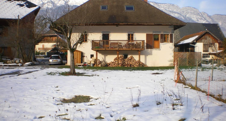 Chambre d'hôtes: la ferme du pralet à doussard (112848)