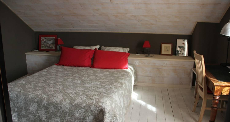 Chambre d'hôtes: la garenne du lac chambre à évian-les-bains (112923)