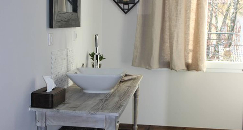 Chambre d'hôtes: la garenne du lac chambre à évian-les-bains (112924)