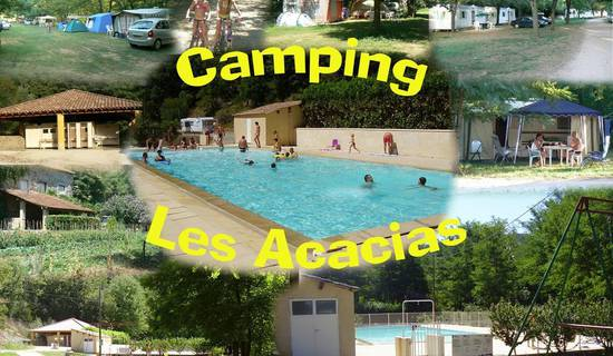 camping les acacias foto