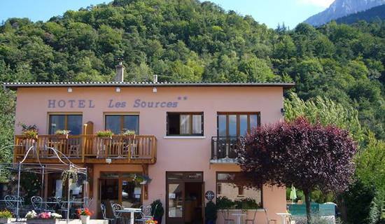 Hotel Camping les sources foto