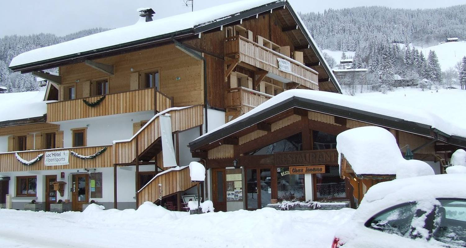 Hotel residence: loc'hotel alpen'sports in les gets (113418)