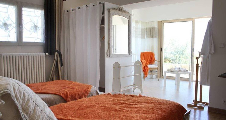 Chambre d'hôtes: maison d'hôtes bleu-azur à tourrettes-sur-loup (113427)