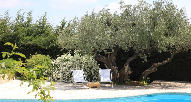 Chambre d'hôtes: maison d'hôtes bleu-azur à tourrettes-sur-loup (113429)