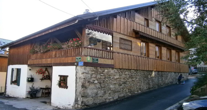 Chambre d'hôtes: la ferme béatrix à châtillon-sur-cluses (113558)