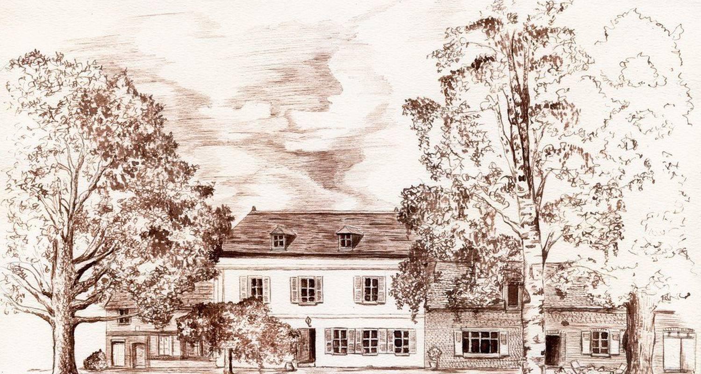 Chambre d'hôtes: la ferme du village à saussay-la-campagne (113913)