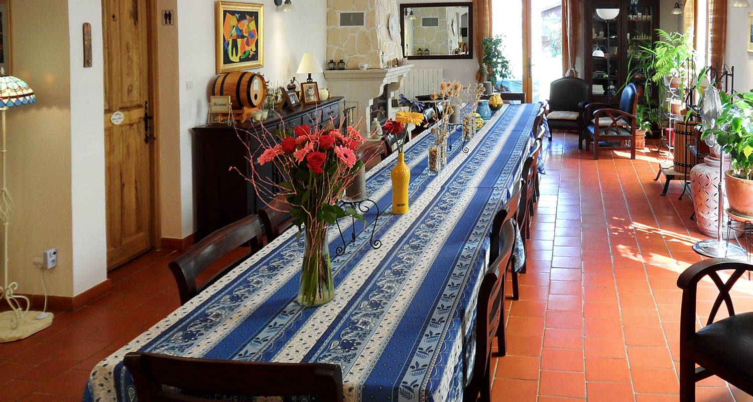 Bed & breakfast: la bastide des templiers (guest house set in picturesque countryside amidst lovely natural sceneries) in bras (132093)