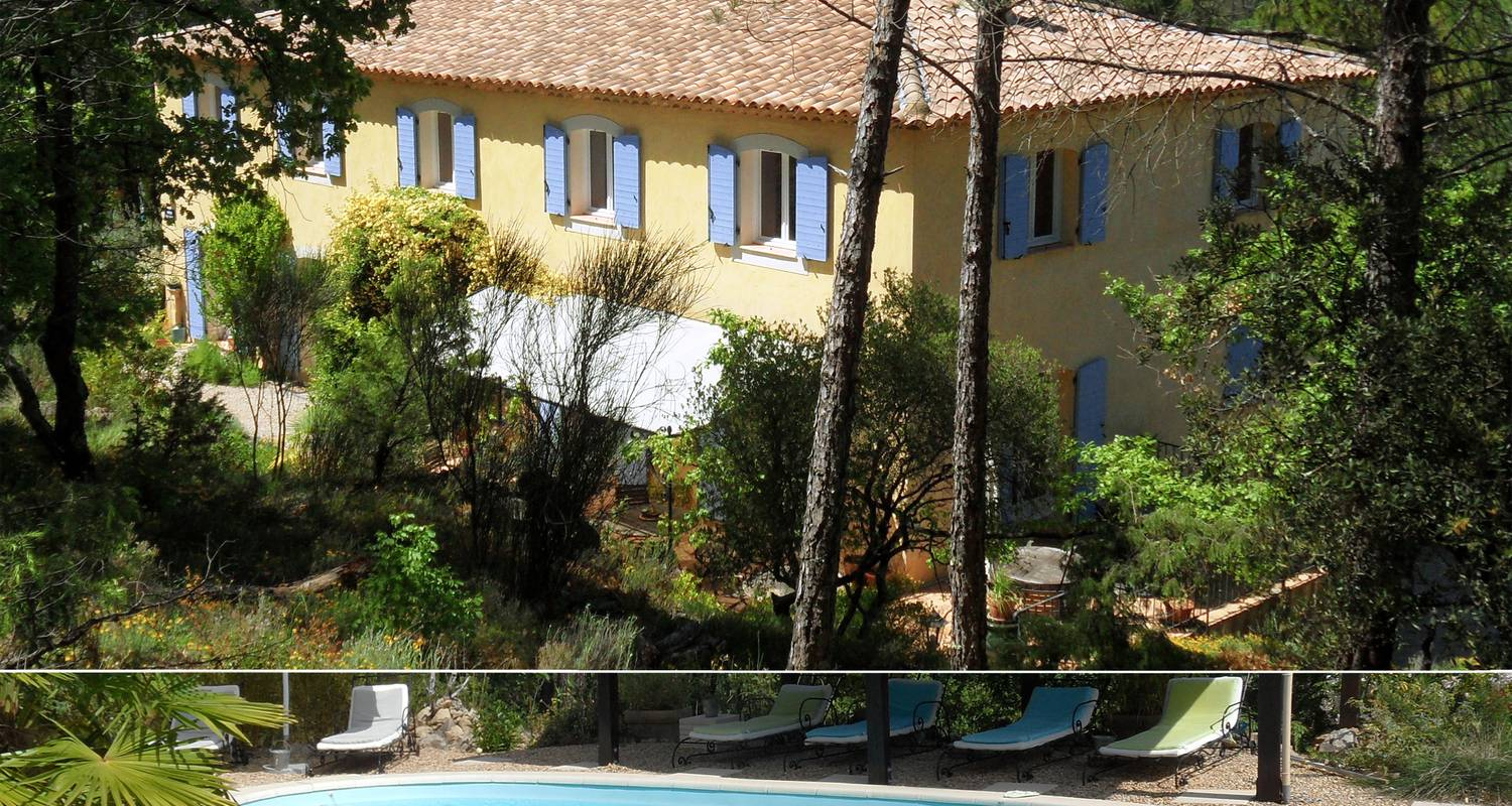 Gîte: la bastide des templiers (self-contained studio-apartment in a guest house amidst lovely natural sceneries) in bras (113936)