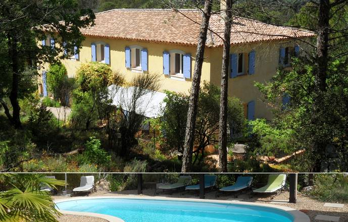 La Bastide des Templiers (self-contained studio-apartment in a Guest House amidst lovely natural sceneries)
