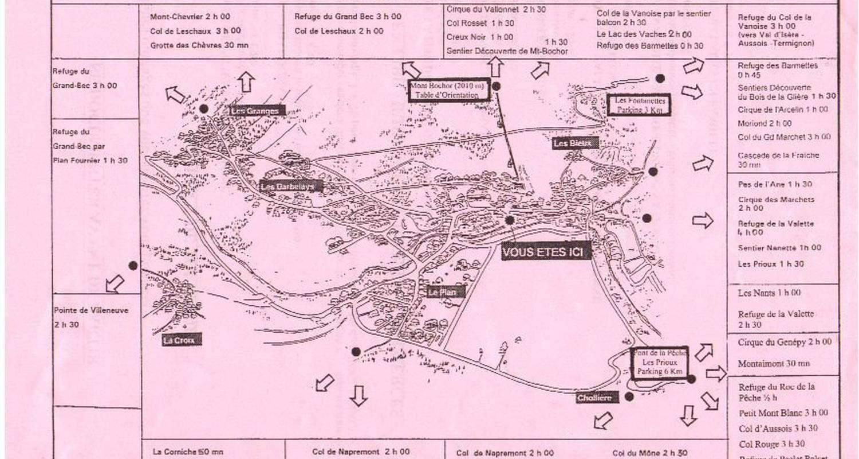 Logement meublé: le chasseforet à pralognan-la-vanoise (114585)
