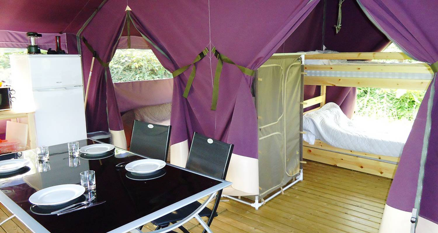 Camping pitches: flower camping le paluet in matour (121603)