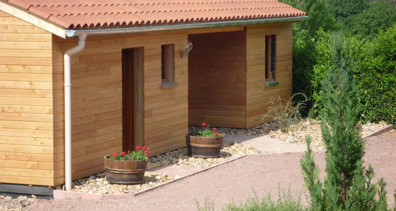 Habitación de huéspedes: l'esprit cabane en oingt (115546)