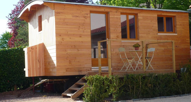 Habitación de huéspedes: l'esprit cabane en oingt (115549)