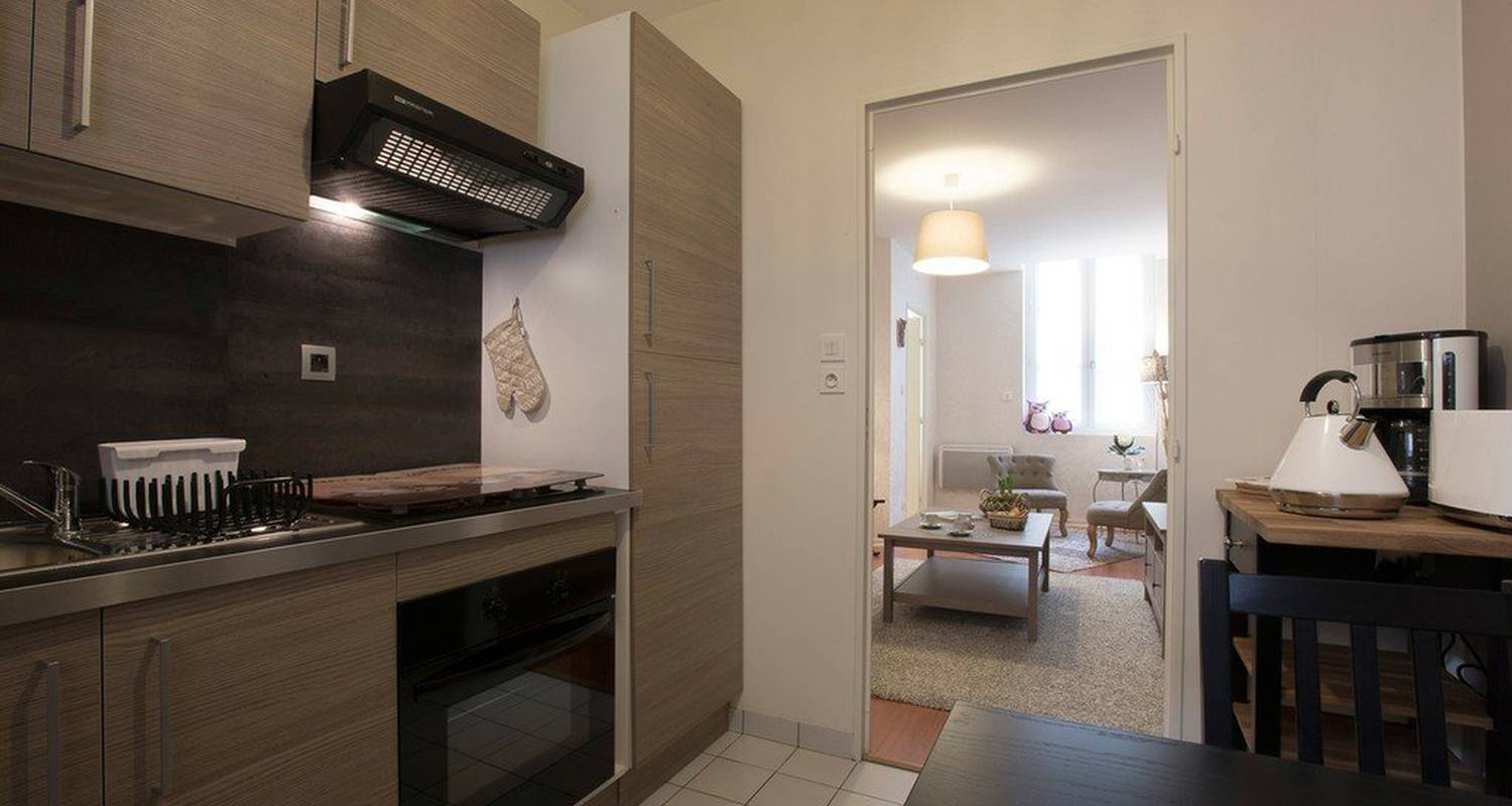 Casa rurale: chouette appartement  en dijon (115552)