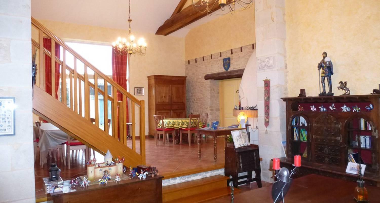 Chambre d'hôtes: les murets de trézé à montreuil-bellay (115560)