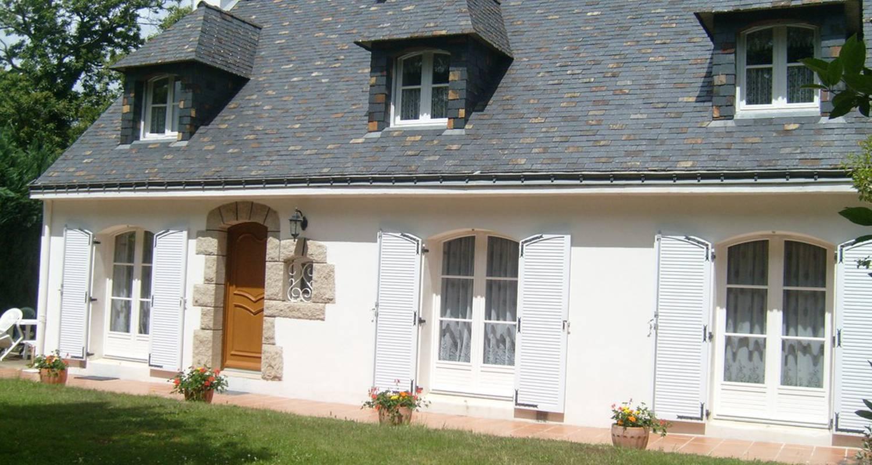 Chambre d'hôtes: chambres d'hôtes d'evelyne à pluneret (115571)