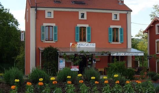 HOTEL RESTAURANT  DE L'ILE