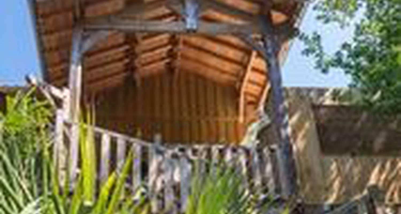 Chambre d'hôtes: la cabane au bord du lac à biscarrosse (116859)