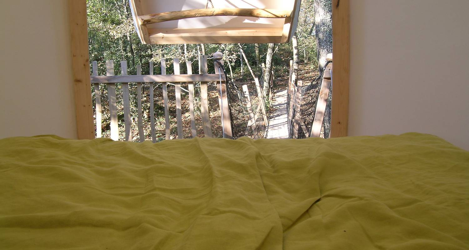 Bed & breakfast: lov nid, tree-house in lembras (119640)