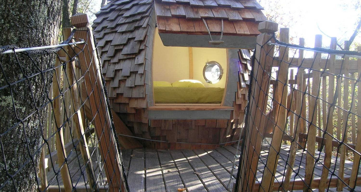 Bed & breakfast: lov nid, tree-house in lembras (119639)