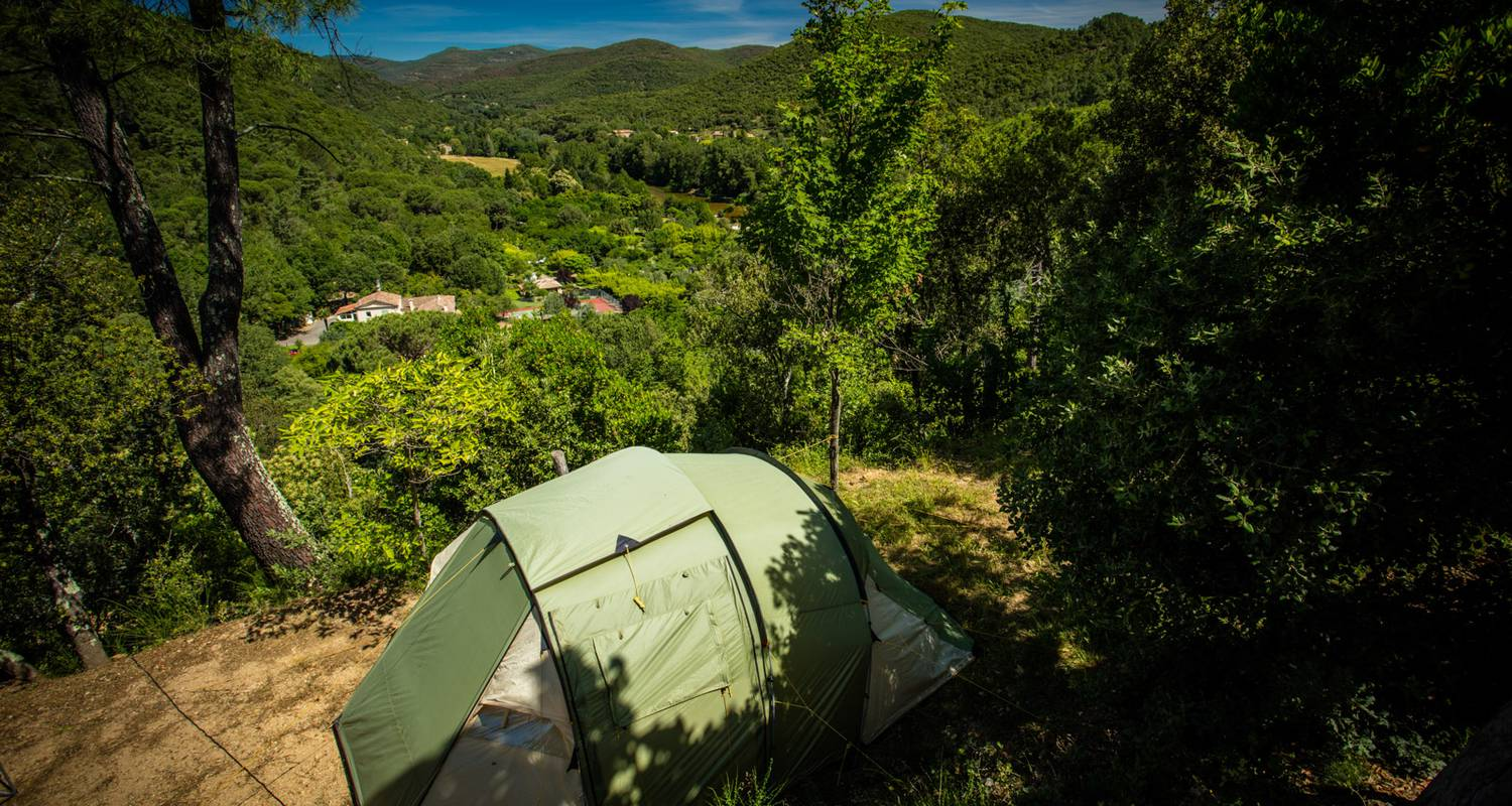 Camping pitches: camping cévennes-provence. in anduze (117132)