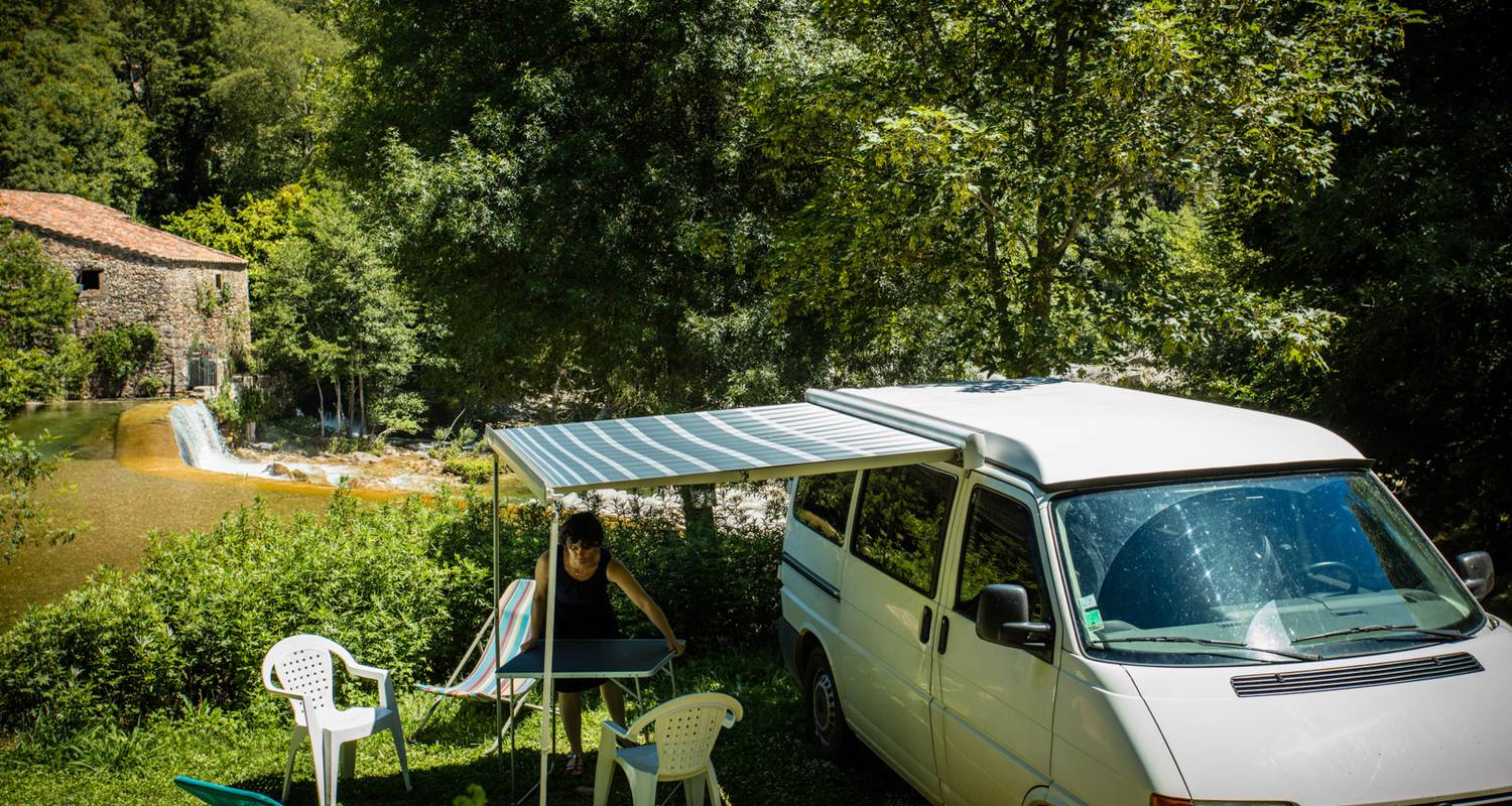 Camping pitches: camping cévennes-provence. in anduze (117133)
