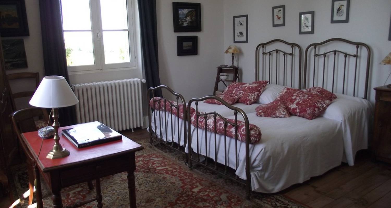 Chambre d'hôtes: castel la bergerie à laglorieuse (117570)