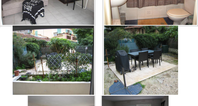 Furnished accommodation: studio avec jardin in menton (117595)