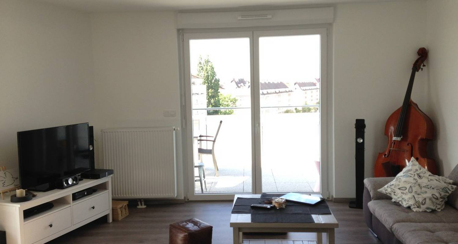 Furnished accommodation: appartement terrasse in strasbourg (117824)