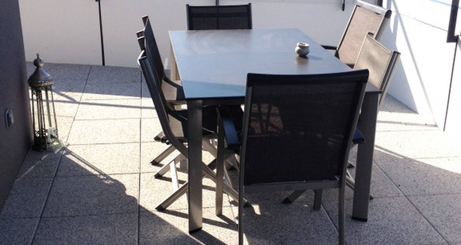 Furnished accommodation: appartement terrasse in strasbourg (117827)