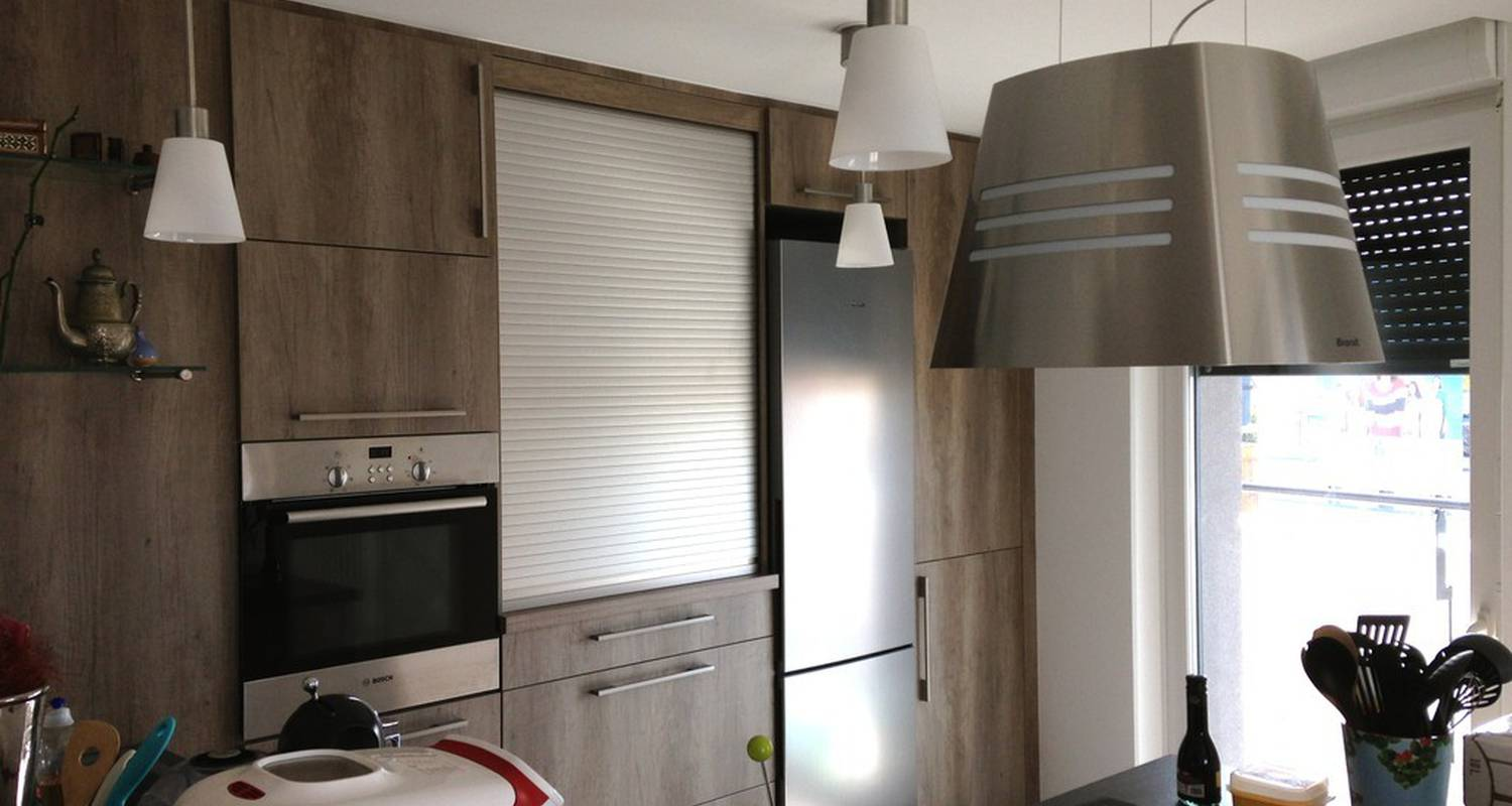 Furnished accommodation: appartement terrasse in strasbourg (117826)