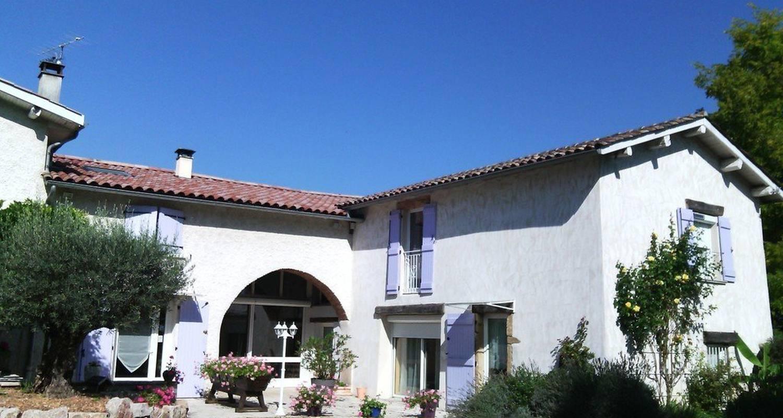 Chambre d'hôtes: ch. d'hôtes les glycines à cheyssieu (118005)