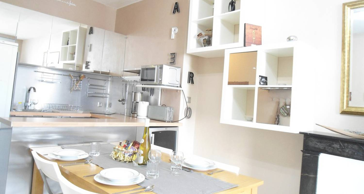 "Furnished accommodation: ""l'escapade"" coeur nantes in nantes (118213)"