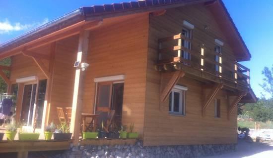 Maison en Bois foto