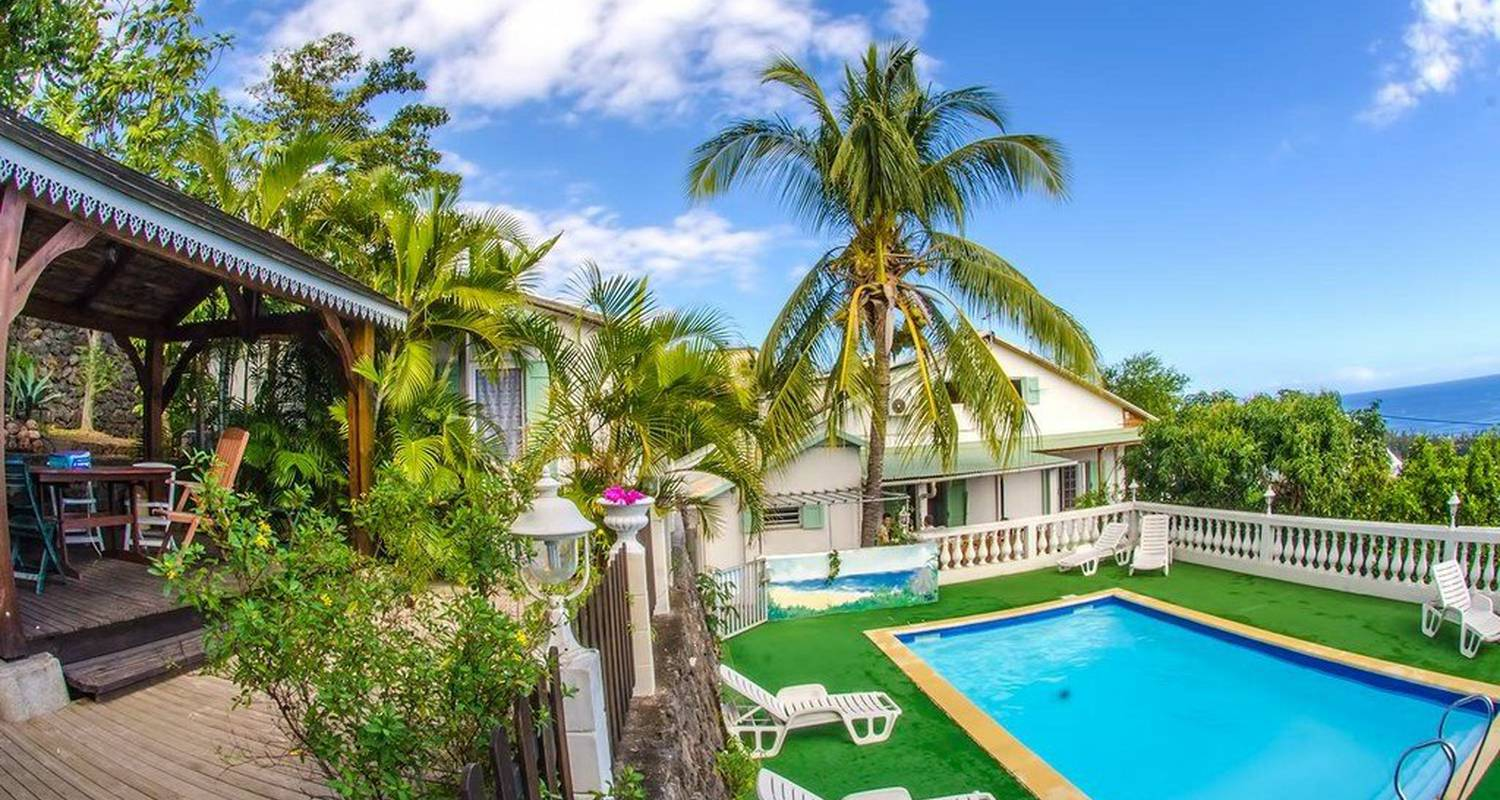 Furnished accommodation: cap soleil-locations 6 p. in saint-leu (118513)