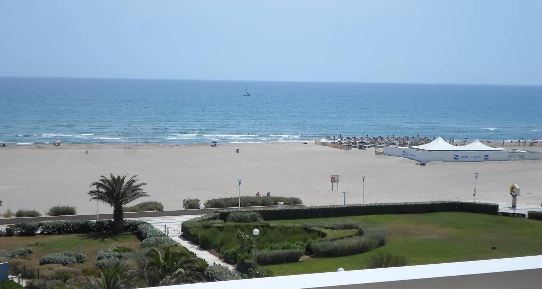 Logement meublé: appart vue mer à 50 mètres de la  plage  à canet-en-roussillon (119630)