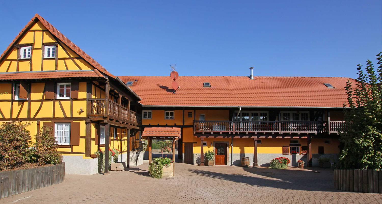 Bed & breakfast: la ferme pierre in donnenheim (125215)